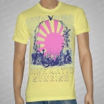 Cinematic Sunrise Animals Yellow T-Shirt