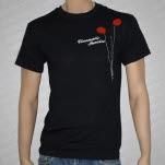 Cinematic Sunrise Balloons Black T-Shirt