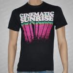 Cinematic Sunrise Vintage Logo Black T-Shirt