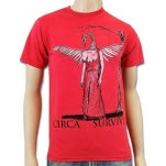 Circa Survive Commit To Memory Heather Red T-Shirt