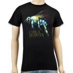 official Circa Survive Fly Black T-Shirt