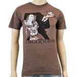Circa Survive Welcome Heather Brown T-Shirt