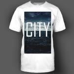 City In The Sea Dark Waters White T-Shirt