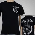City In The Sea Handeye Black T-Shirt