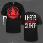 City In The Sea Silence Black T-Shirt