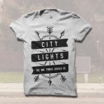 official City Lights Arrows White T-Shirt