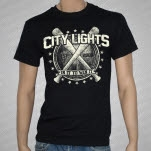 City Lights Bats Black T-Shirt