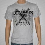 City Lights Bats Heather Gray T-Shirt