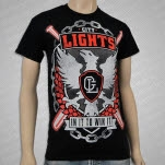 City Lights Bird Black T-Shirt