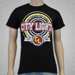 City Lights COLUMBUS Black T-Shirt