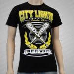 City Lights IN IT TO WIN IT Black T-Shirt