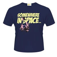 Clangers Somewhere In Space T-Shirt