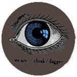 Cloak Dagger Eye Pin