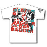 Cloak Dagger Shirts for a Cure White T-Shirt