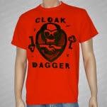 Cloak Dagger Skull T-Shirt