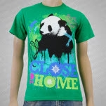 Close To Home Panda Green T-Shirt