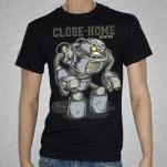 Close To Home Robot Black T-Shirt