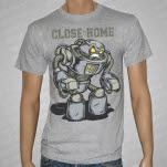 Close To Home Robot Heather Gray T-Shirt