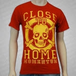 Close To Home Skull Red T-Shirt