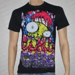 Close To Home HT Worms and Birds Black T-Shirt