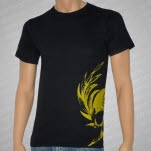 Coheed and Cambria Gold Skull T-Shirt