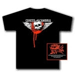 Coheed and Cambria Skullwings Black T-Shirt