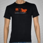Coheed and Cambria stamp on Black T-Shirt