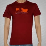 Coheed and Cambria Stamp On Maroon T-Shirt