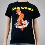 Cold World Flame Black T-Shirt