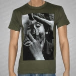 Cold World Monster Ugly Face Green T-Shirt