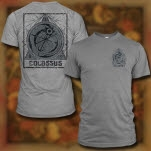 Colossus Emblem Heather Grey T-Shirt