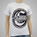 Colossus Live Shot White T-Shirt