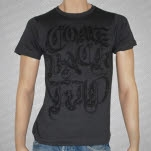 Comeback Kid Medieval Logo Charcoal T-Shirt
