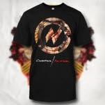 Conditions Full Of War Circle Black T-Shirt