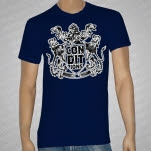 Conditions Crest Navy T-Shirt