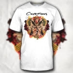 Conditions Full Of War Album Art White T-Shirt