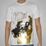 Conditions Headless Foil Print White T-Shirt