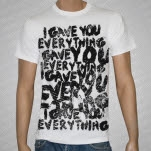 Conquer Divide Everything White T-Shirt