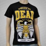 Consider Me Dead Eagle Black T-Shirt