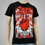 Consider Me Dead Sword Through Heart Black T-Shirt