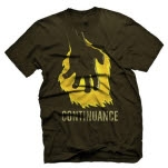 Continuance Burning Hand Brown T-Shirt