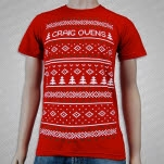 Craig Owens Ugly Sweater Red T-Shirt