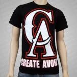 Create Avoid CA Logo Black T-Shirt