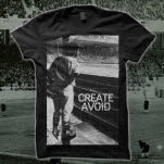 Create Avoid Pastime Black T-Shirt