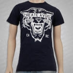 Create Avoid Tiger Head Blue T-Shirt
