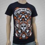 Crown The Empire Axe Navy T-Shirt