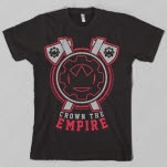 Crown The Empire Chopped Black T-Shirt