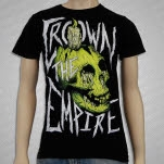 Crown The Empire Skull And Candle Black T-Shirt