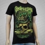 Crown The Empire Skull Book Green Black T-Shirt
