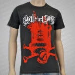 Crown The Empire Skull Asphalt T-Shirt